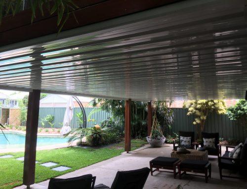 Outdoor patio roof